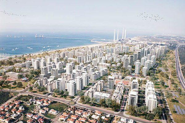שכונת עיר ימים חדרה | תכנון: לייטרסדורף-בן דיין אדריכלים | הדמיות: 3DVision